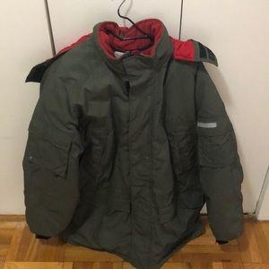 Green Men's Coat